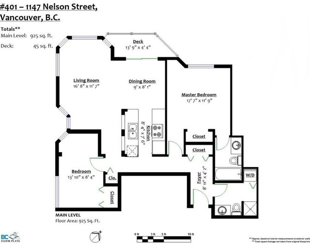 401 1147 NELSON STREET - West End VW Apartment/Condo for sale, 2 Bedrooms (R2253249) #20