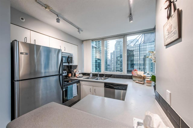 1805 588 BROUGHTON STREET - Coal Harbour Apartment/Condo for sale, 1 Bedroom (R2333448) #10