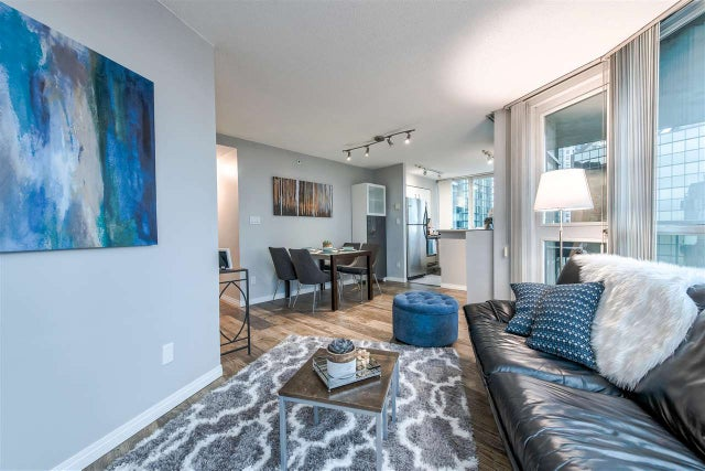 1805 588 BROUGHTON STREET - Coal Harbour Apartment/Condo for sale, 1 Bedroom (R2333448) #5