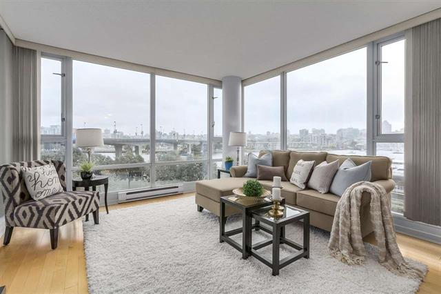 605-1033 Marinaside Crescent Vancouver B.C. V6Z 3A3 - Yaletown Apartment/Condo for sale, 2 Bedrooms (R2213269) #3