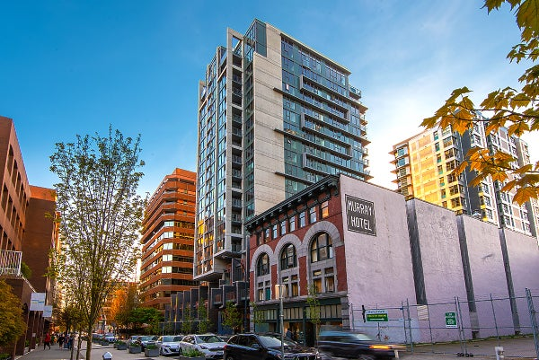 1701-1133 Hornby Street Vancouver B.C. V6Z 1W1 - Downtown VW Apartment/Condo for sale, 1 Bedroom (R2362597) #1